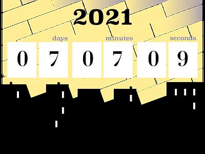 Countdown Timer 2021 countdown timer illustrator