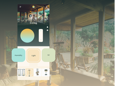 Home Monitor DailyUI ux ui illustrator xd design dailyui