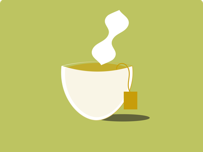 To Refuse a Cup of Tea tea home relax drink illustration illustrator