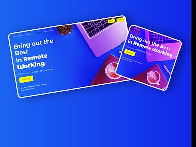 Digital Coach Landing Page landing page website design