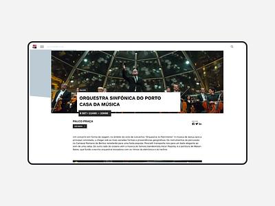 Noite Branca alaska detail page design development wordpress webdesign website web ux ui event