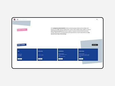 noite branca event development wordpress landing webdesign website web design ux ui