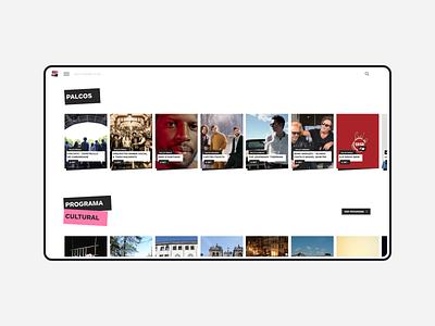 noite branca wordpress alaska landing event development design website webdesign web ux card ui