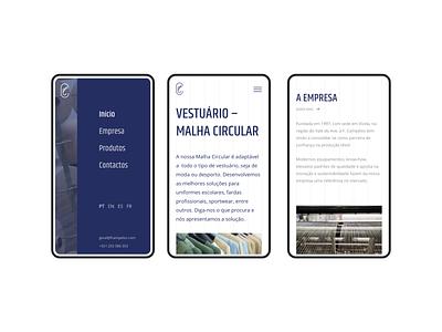 F. Campelos alaska wordpress mobile website webdesign web ux development ui