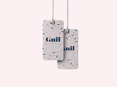 Guil advertising alaska shop tag design graphic branding brand logotype identity logo