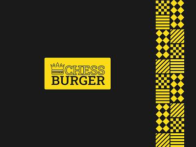 Chessburger Logo chess burger chess logo chess creative logo fast food burger pattern hamburger food branding colour logo branding brand identity logodesigner smart logo