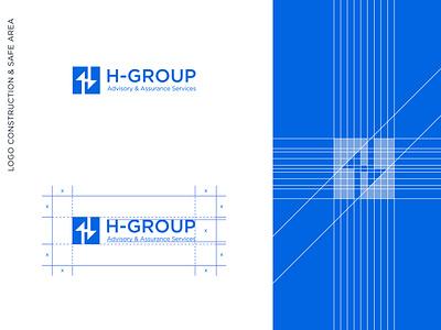 H-Group Branding / HGroup Brand Identity creative h logo h logo h letter logo advisory logo assurance logo advisory assurance finance logo hgroup brand identity logo branding