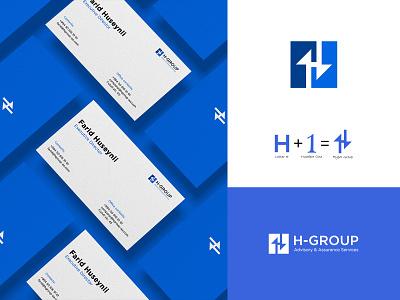 H-Group logo / Hgroup logo h letter logo advisory logo finance logo assurance logo creative h logo h-group logo hgroup logo brand identity branding logo h logo