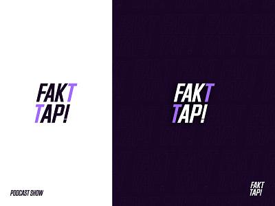 Fakttap - podcast show logo faktap logo fakttap logo podcast show logo faktap fakttap podcast show podcast logo