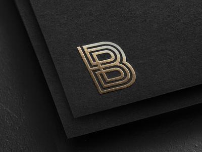 Elegant B logo for Body Loft brand identity elegant branding branding logo b creative b logo elegant b logo b logo
