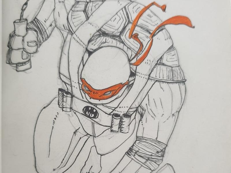 Michelangelo Soledad batman's belt