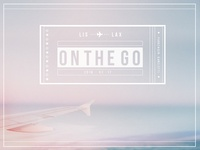 on the go | ✈