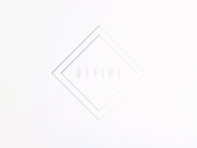 ┴  d e f i n e  ┬ minimal paper gradient define white