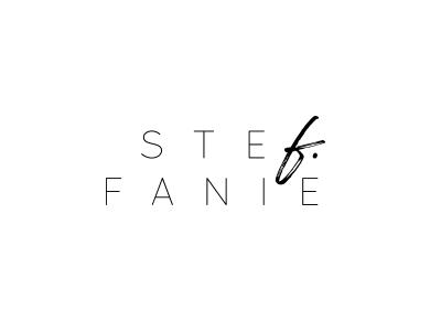 stefanie  ♡ design logo typo branding