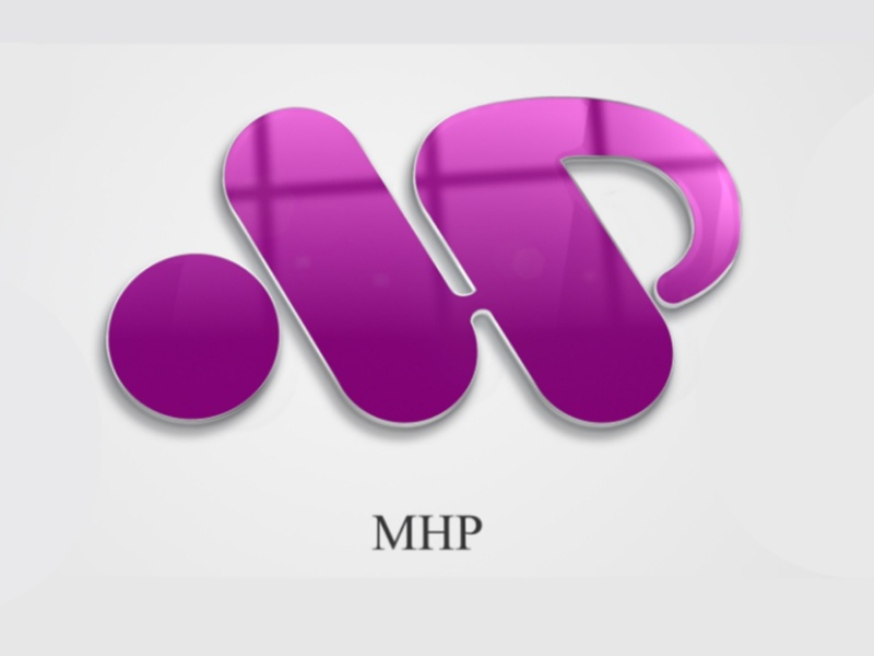 Logo Design - MHP branding icon typography vector brand website app ux ui logo