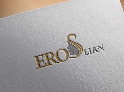 Logo Design - Lion Eros BeautySalon typography illustration website design creative ui ux branding app logo