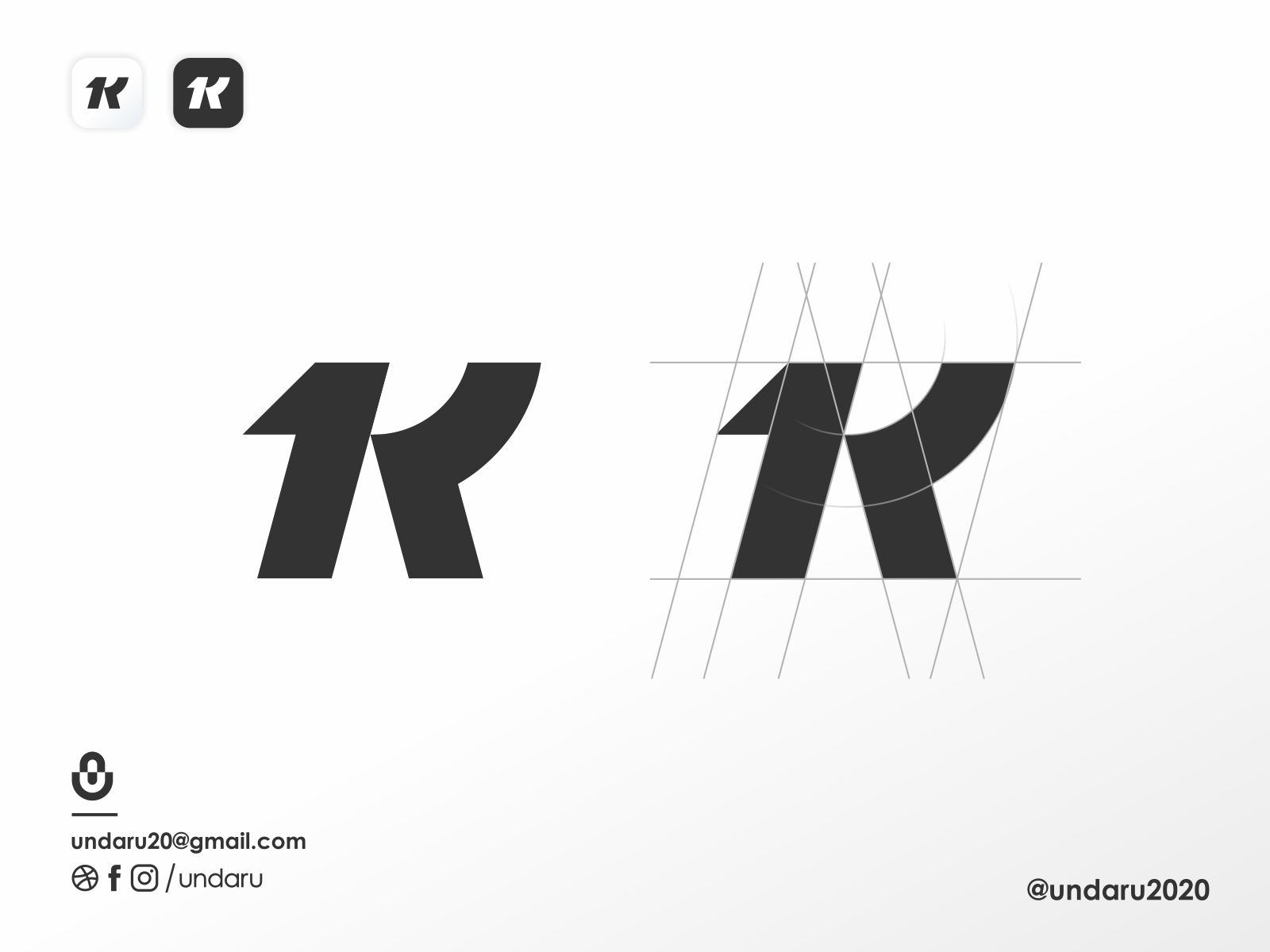 1theK logo 1 logo illustrator illustration app simple logo monogram logo icon flat branding app icon