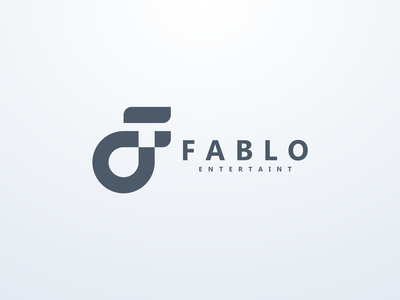 Fablo Mini Brand Guide logos brand clean elegant inisial flogo ui illustration design simple logo monogram flat branding app icon logo icon