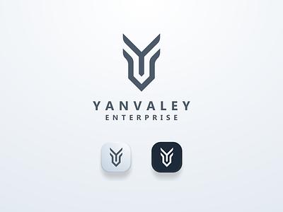 YV Logo Initial logoinspiration logobrand clean yvlogo logomark logos brand ui illustration design simple logo monogram flat branding app icon logo icon