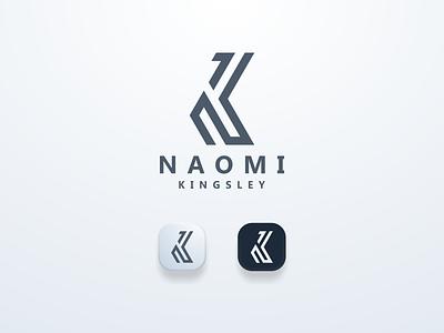 NK Logo Initial elagant clean guide logoinspiration logomark logos brand nklogo ui illustration design simple logo monogram flat branding app icon logo icon