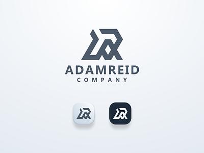 AR Logo Concept logomark logos brand arlogo ui illustration design simple logo monogram flat branding app icon logo icon