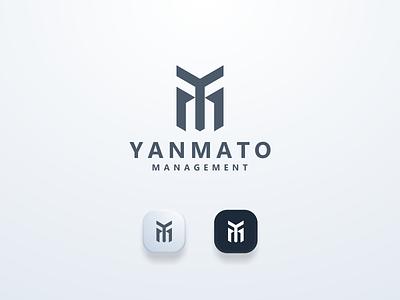 YM Logo Concept logomark logos ymlogo ui illustration design simple logo monogram flat branding app icon logo icon