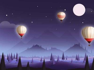 Most Inspiring Wallpaper Night Hot Air Balloon - hot-air-balloon-night1_1x  You Should Have-249033.jpg