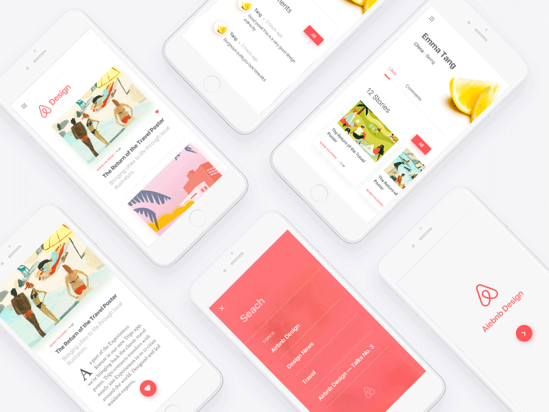 Airbnb Design By Tang Dribbble Dribbble