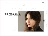 Ω Watch Blog Design