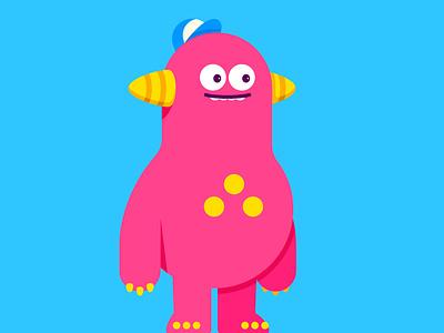 MONSTER monster illustration vector character