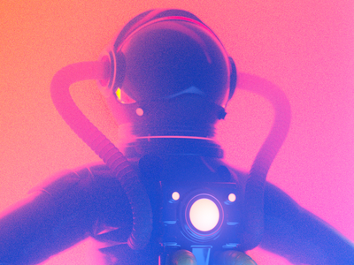 ASTRO astronaut people illustration 3d render character