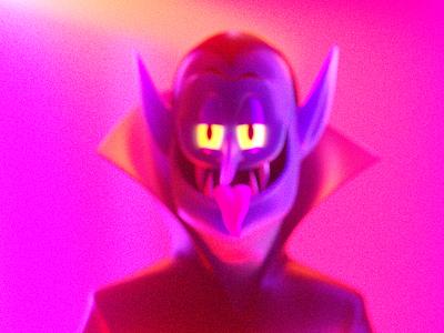 VAMPIRO dracula vampire people octane 3d render character