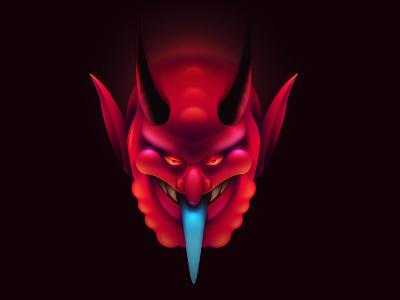 DIABLO adobe illustrator persona illustration character vector devil