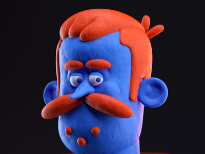 Señor persona man illustration octane c4d 3d render character