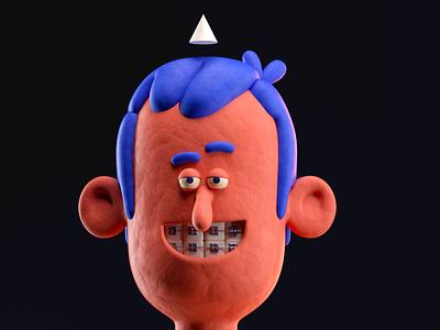 PERSONA illustration octane c4d 3d render character