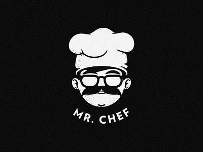MR. CHEF vector lentes cocinero chef logo brand