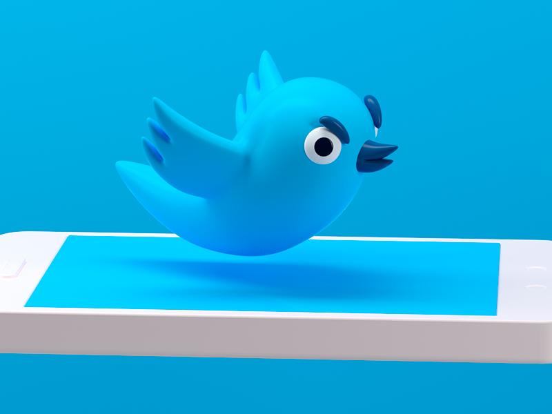 TWITTER twitter social instagram octane render c4d character