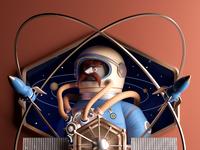 Astro render animacion