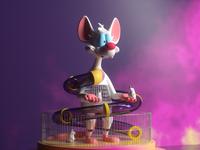 Pinky render