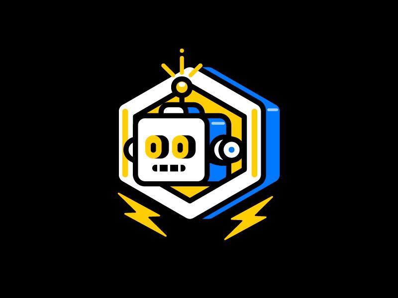 R O B O T ai vector character robot