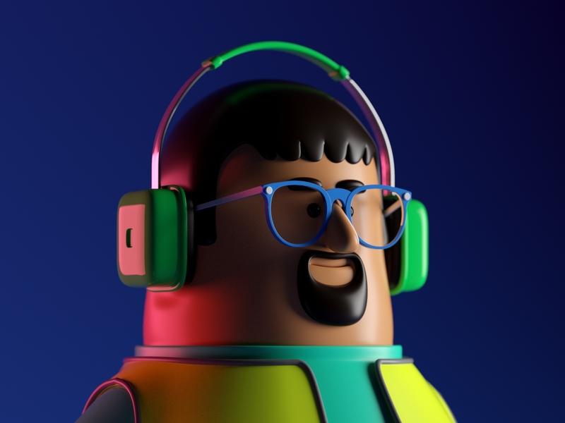 SEÑOR octane c4d 3d render character