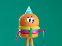 Render burger