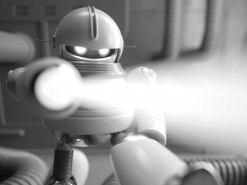 ROBOT robot people illustration persona octane c4d 3d render character