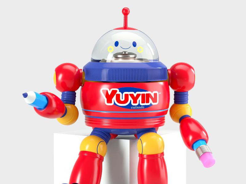 ROBOT robot people octane vector c4d 3d render character