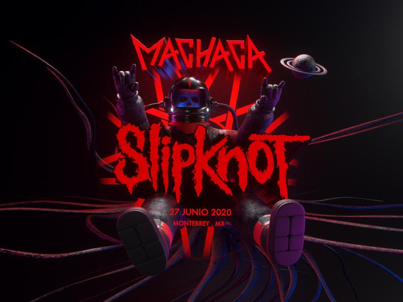 SLIPKNOT metal slipknot persona octane vector c4d 3d render character