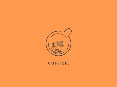 Coffee logo drink shop coffe coffee cup logo design ux ui