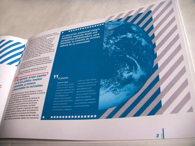 ENVIRONMENTAL PUBLICATION typography design