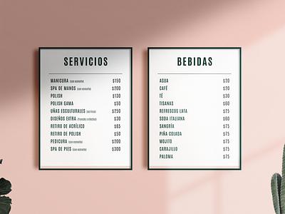 Branding: Polish Garden menu design menuboard identitydesign branding