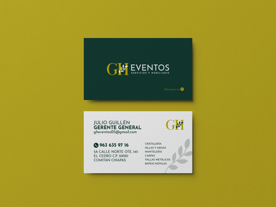 Branding: GH Eventos