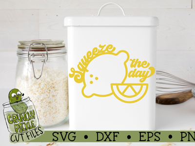Squeeze the Day SVG Cut File design svg tshirt design silhouette cameo cut file cricut